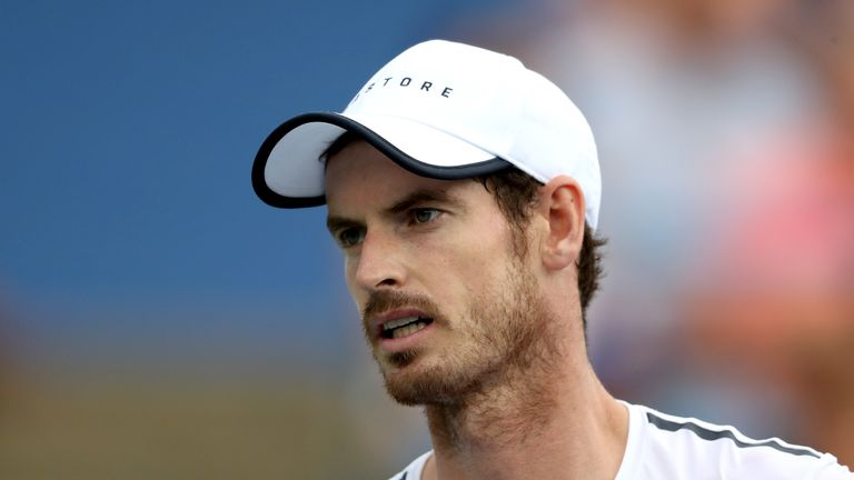 Andy Murray's first singles match since January will come at the Cincinnati Masters against Richard Gasquet next week