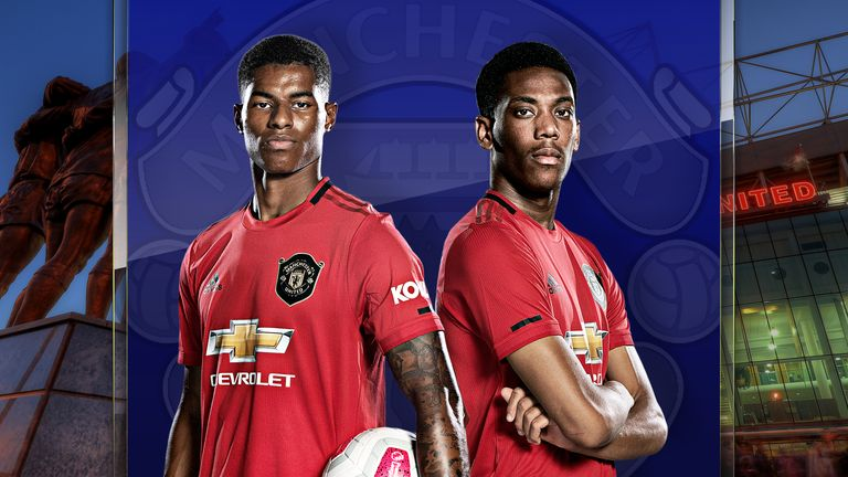 Marcus Rashford and Anthony Martial are leading Manchester United's frontline this season
