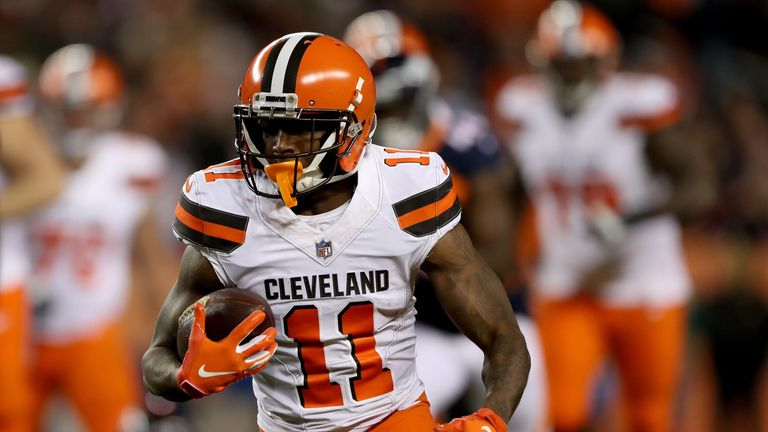 Antonio Callaway will miss the first four games of the NFL season