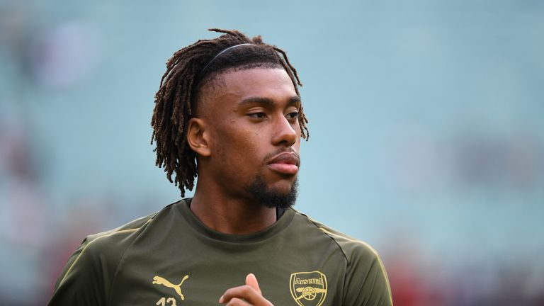 Arsenal have rejected a bid of £30m for midfielder Alex Iwobi