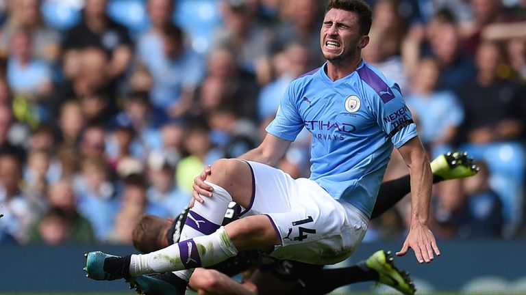 Aymeric Laporte faces a lengthy injury lay-off