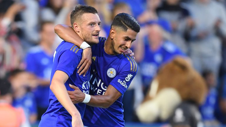 Ayoze Perez has already struck up a partnership with Jamie Vardy since joining Leicester