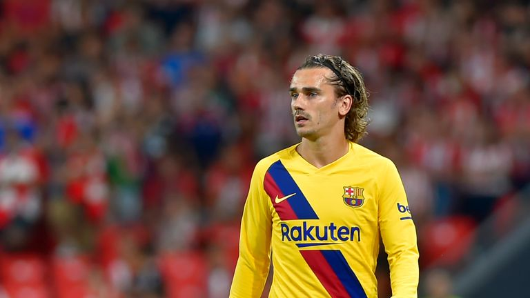 Barcelona met Antoine Griezmann's £107m release clause to bring him to the Nou Camp during the transfer window