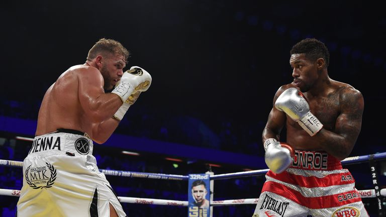 Billy Joe Saunders will fight in the USA for the first time in November