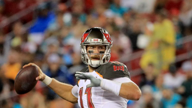 Blaine Gabbert was poised to be the backup in Tampa Bay this season