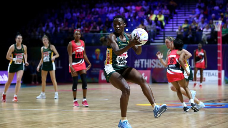 Bongiwe Msomi leaves Wasps Netball to return to South Africa
