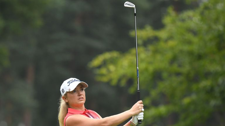 Law is hoping to make her first Solheim Cup appearance