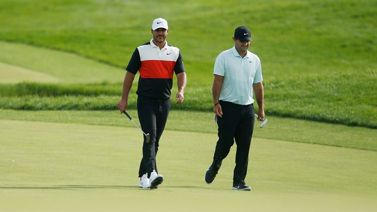 Koepka and Reed are the leading two players in the FedExCup standings