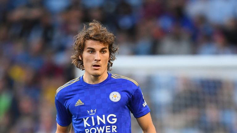 Caglar Soyuncu has been a hit with the Leicester fans