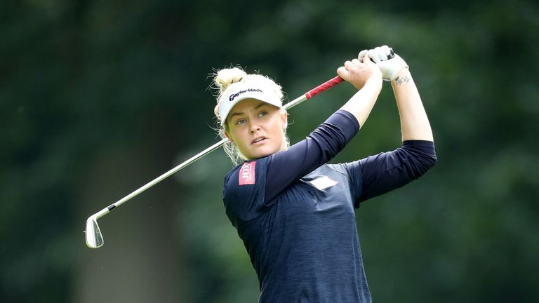 Hull won on the Ladies European Tour earlier this season