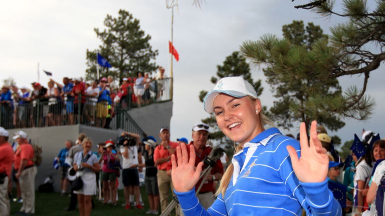 Charley Hull impressed as a teenage rookie in the 2013 contest.