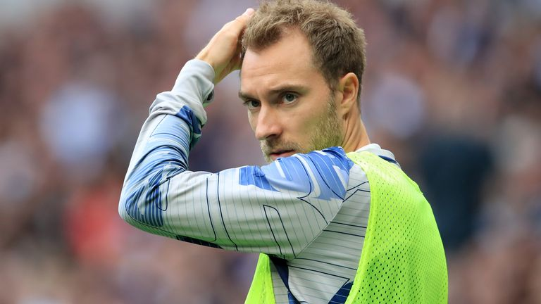 Real are still in the market for is Tottenham's Christian Eriksen