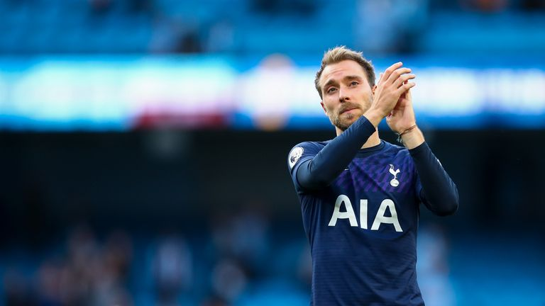 Eriksen had been linked with a move to Real Madrid throughout the summer transfer window