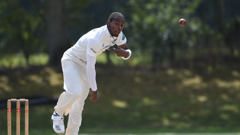 Jofra Archer bowled 19 overs for Sussex's second XI
