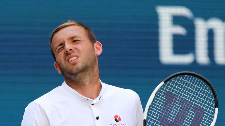 Dan Evans out of Stockholm Open in second round | Tennis News |