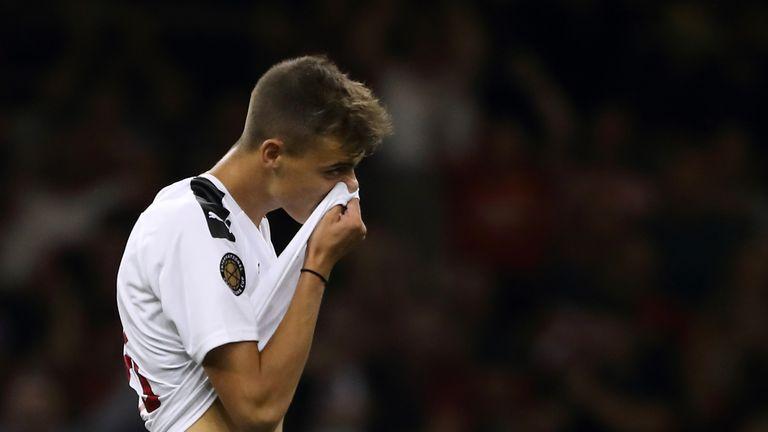 Daniel Maldini was denied from the penalty spot