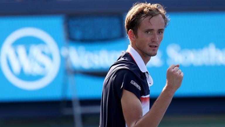 Daniil Medvedev battles past David Goffin to claim Cincinnati Masters title