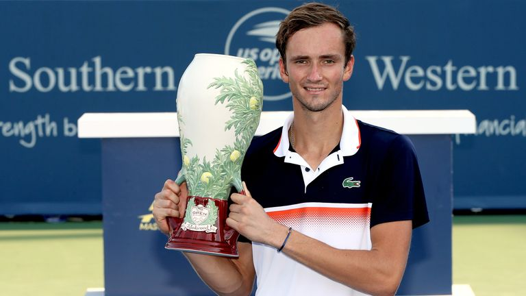 Medvedev won his maiden Masters title at Cincinatti