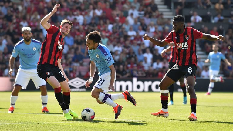 David Silva created goals for Raheem Sterling and Sergio Aguero