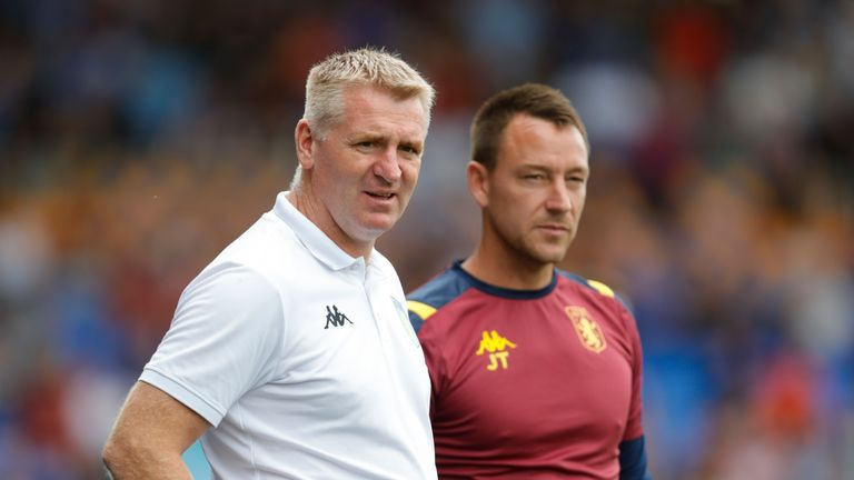 "Dean Smith says Terry has a ""deep respect"" for Mourinho"