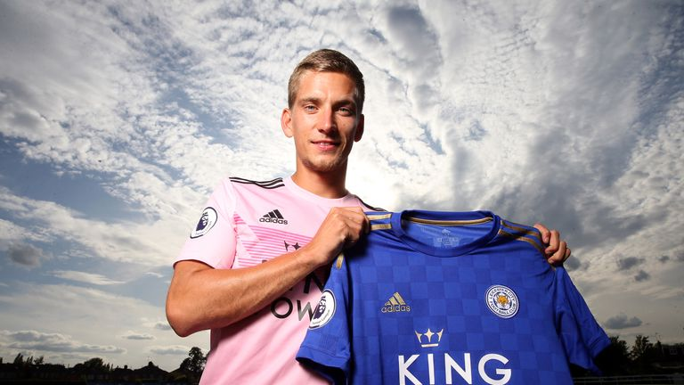 Dennis Praet has joined Leicester on a five-year deal
