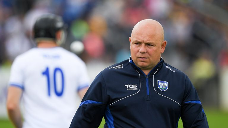 Derek McGrath stepped away from Waterford at the end of the 2018 season