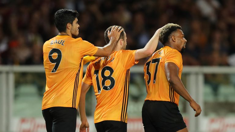 Raul Jimenez and Diogo Jota both scored for Wolves while Adama Traore was a constant menace