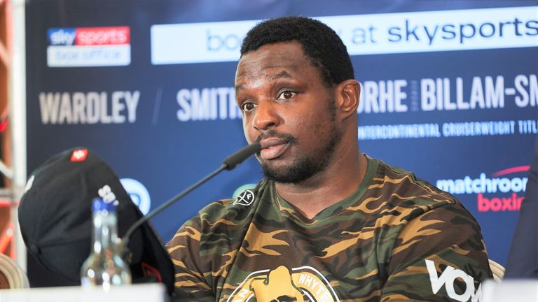 Eddie Hearn says Dillian Whyte's negative tests from VADA are 'key evidence' against drug allegations