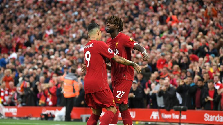 Divock Origi says signing new Liverpool contract was down to instinct