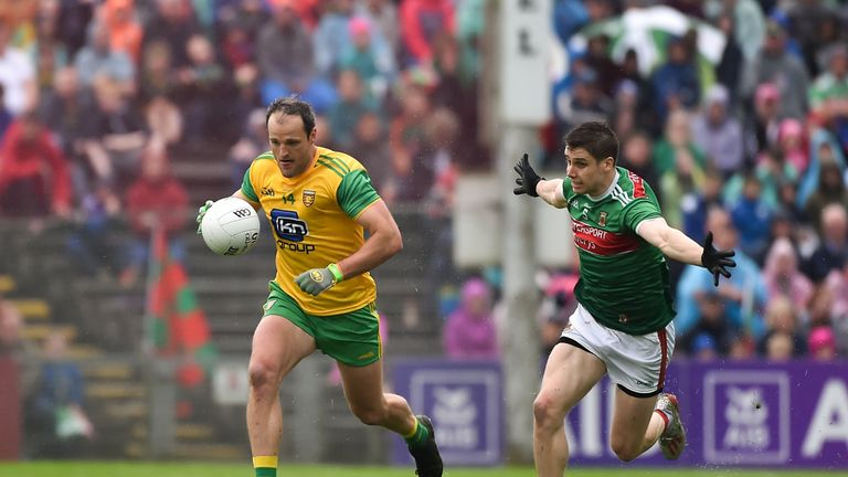 Michael Murphy scored 1-4 for Donegal