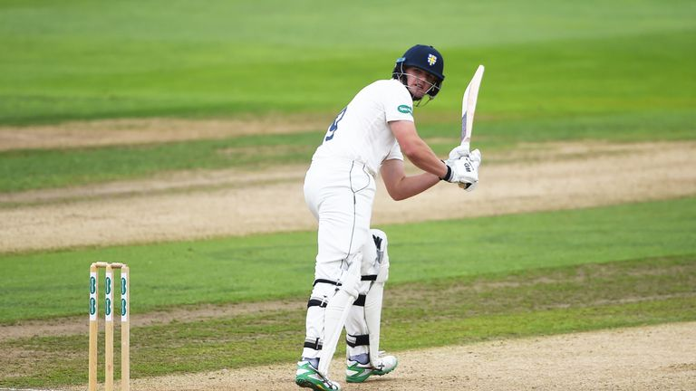 Durham's Alex Lees top-scored on day one at Chester-le-Street