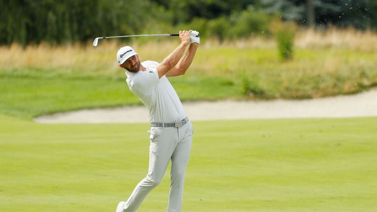 Johnson took the outright lead with a birdie at the last