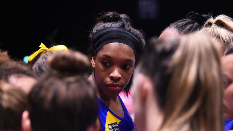 Eboni Usoro-Brown made her Blue & Gold debut back in the 2006-07 season