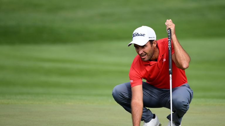 Could Edoardo Molinari mount a final-day challenge, currently sitting tied third on the leaderboard?