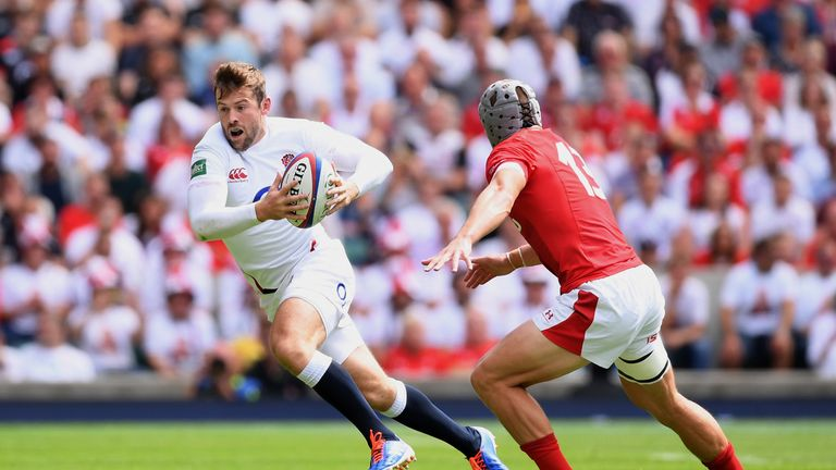 Full-back Elliot Daly will be keen to cement his place in England's starting line-up
