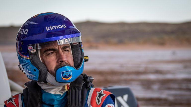 Fernando Alonso will take part in the Dakar Rally in January