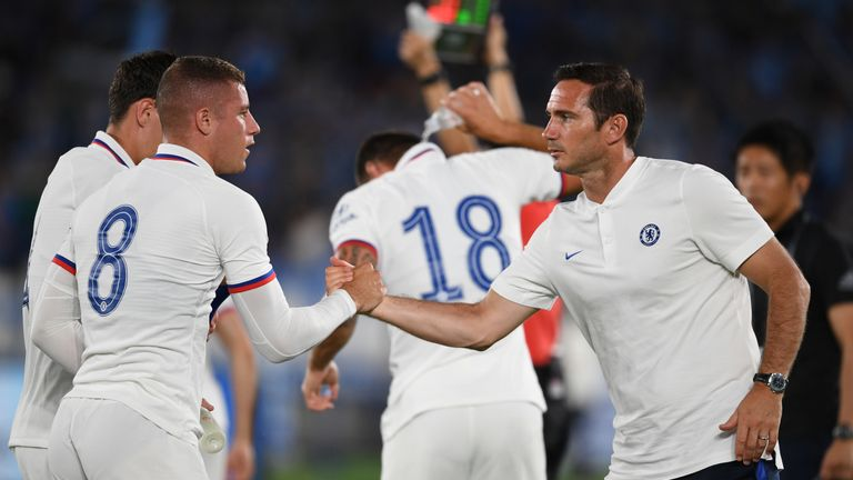Frank Lampard will have to rely on the existing Chelsea squad ahead of his first season as a manager at Stamford Bridge