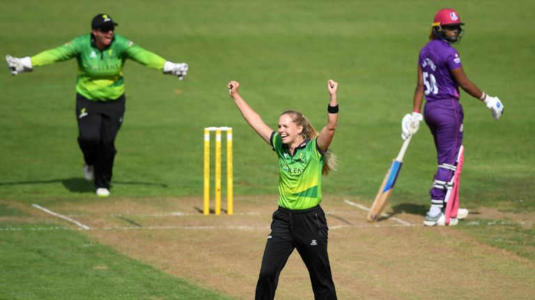 Freya Davies picked up her first four-wicket in T20 cricket