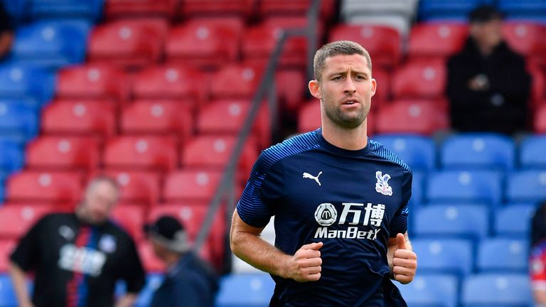 Gary Cahill could be set to make his Palace debut against United, Hodgson has revealed
