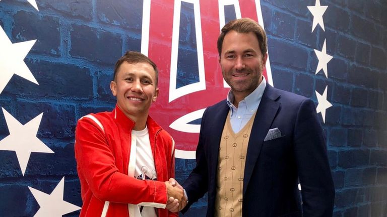 Gennadiy Golovkin's GGG Promotions links up with Eddie Hearn's Matchroom Boxing