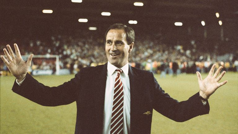 George Graham adjusted his formation to stop Liverpool's attacking threat