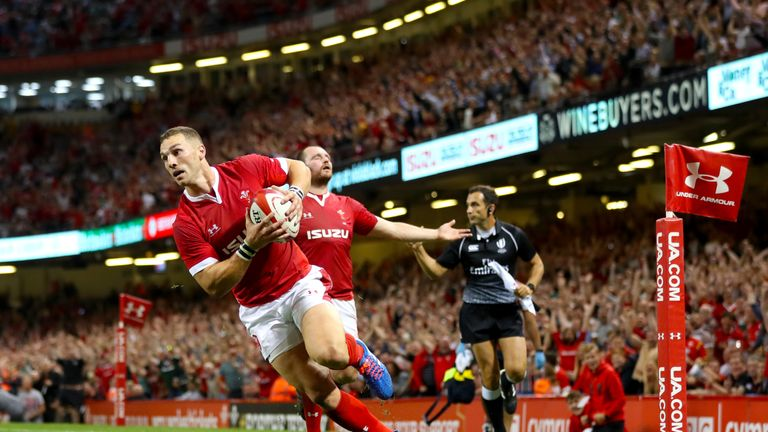 George North's try against England sparks World Rugby rule change