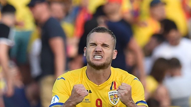 Puscas was a star man for Romania during the summer's European Under-21 Championship