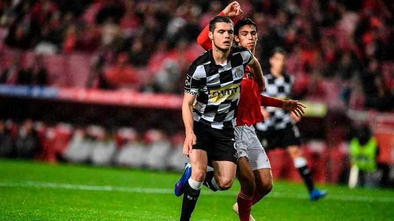 Cardoso made 15 league appearances for Boavista during the 2018-19 season