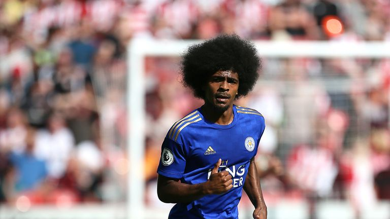Leicester City's Hamza Choudhury believes his tackle with Ritchie was '50/50'