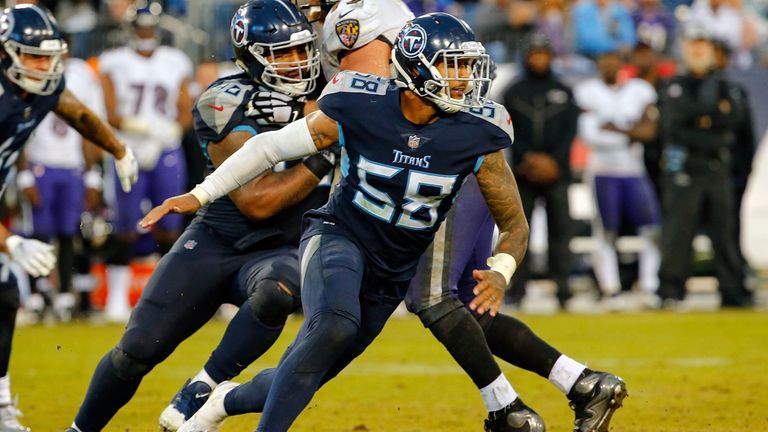 The Titans will be hoping Harold Landry can bring the pass rush in 2019