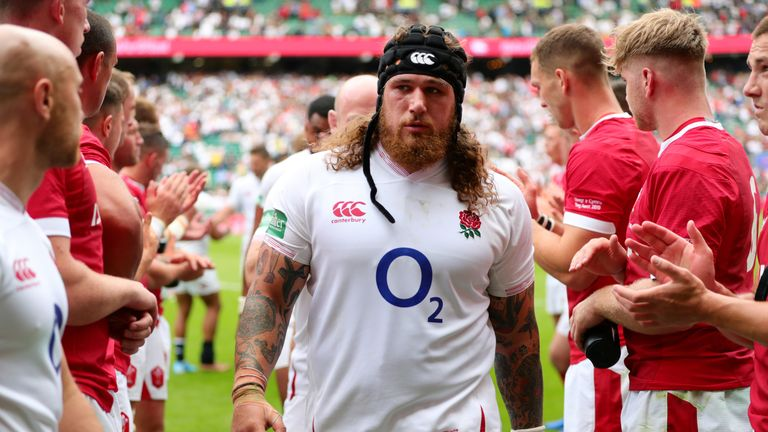Harry Williams came off the bench in England's victory over Wales on Sunday