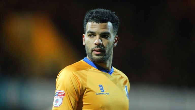 Jacob Mellis has been suspended by Mansfield