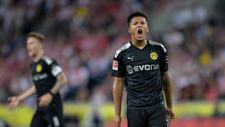Jadon Sancho starred as Borussia Dortmund made it two wins in two