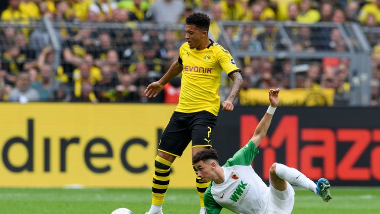 Could Sancho be on his way to Manchester United?